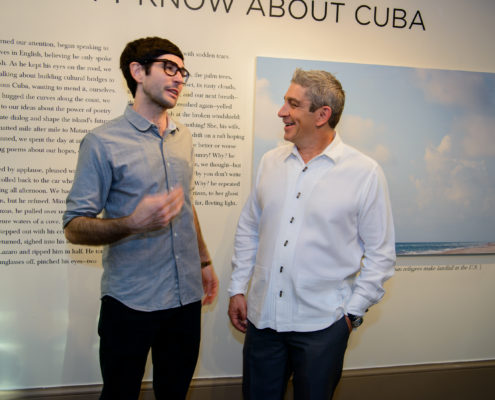 Boundaries collaborative duo photographer Jacob Hessler and poet Richard Blanco