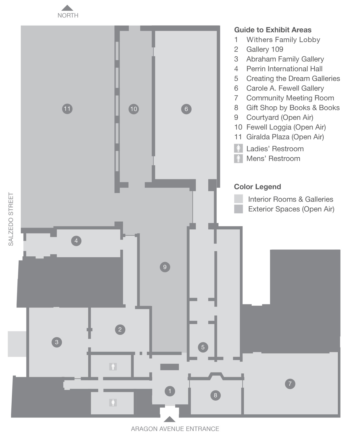 Coral Gables Museum Floor Plan