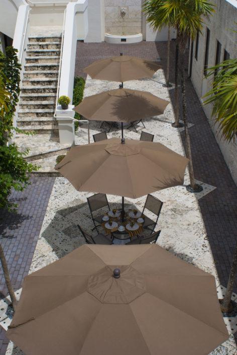 Courtyard Umbrellas
