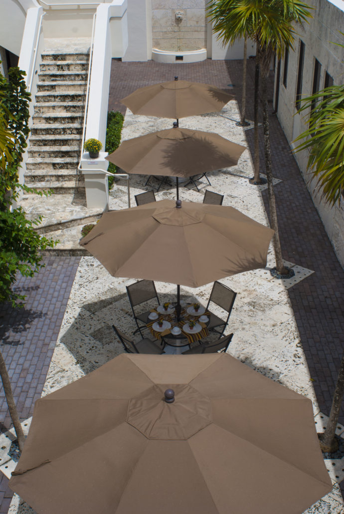 Courtyard Umbrellas