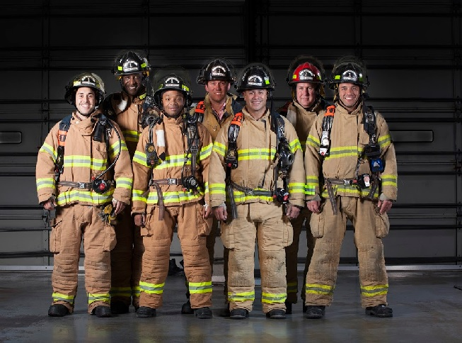 Annual Firefighters Holiday Toy Drive and Firefighter Calendar KICK OFF