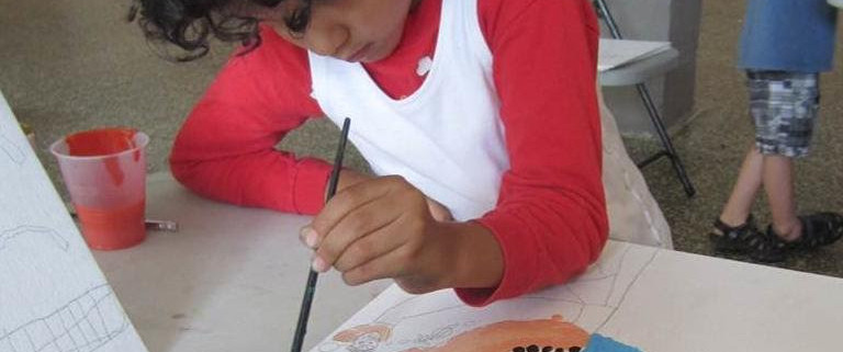 One Day Camp Science and Watercolor!