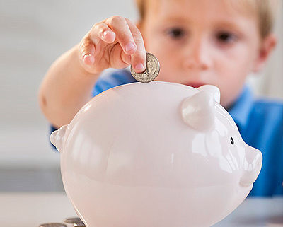 one day camp piggy bank