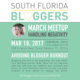 March-South-Florida-Bloggers-Meetup