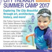 City Trekker Summer Camp 2017 graphic