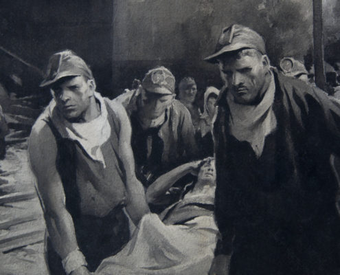 Coal miners detail