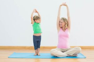Family Day family yoga