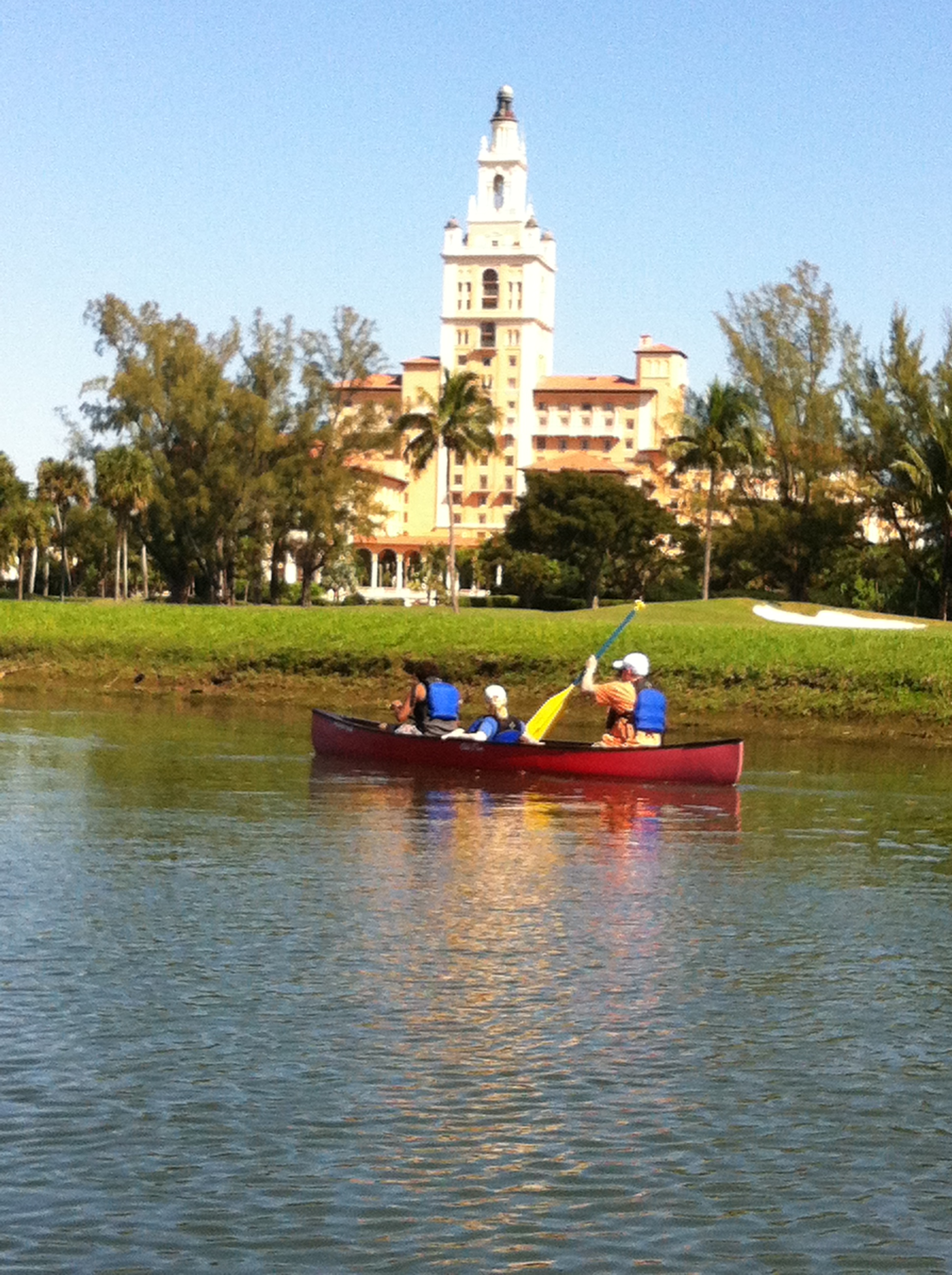 Family cruises by the Biltmore Hotel and Country Club