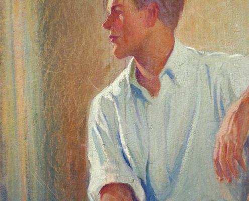 Portrait of a young man edit no tear
