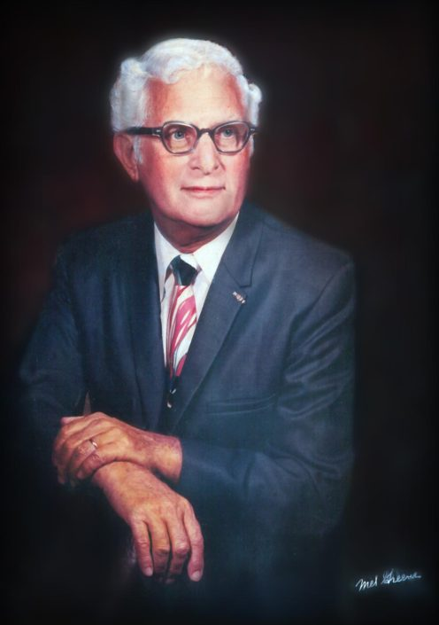 Portrait of Albert H. Friedman. Image Courtesy of Margot B. Friedman