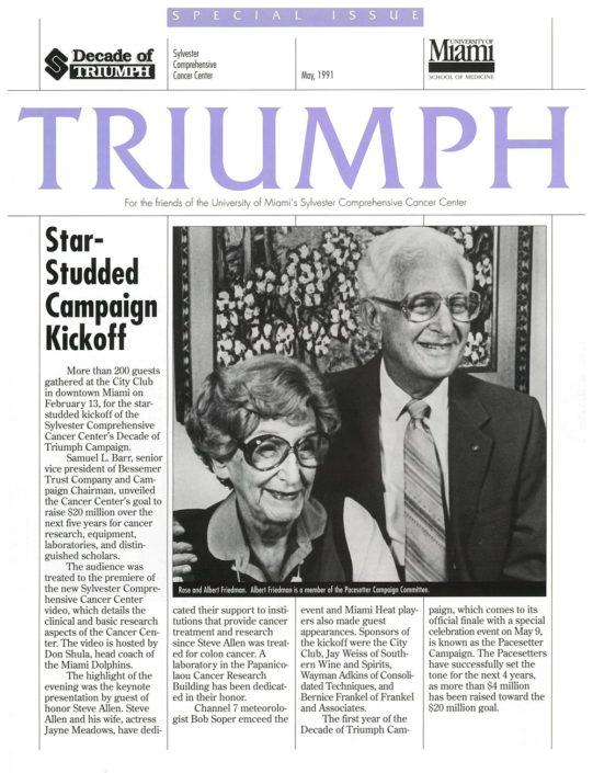 Triumph Article