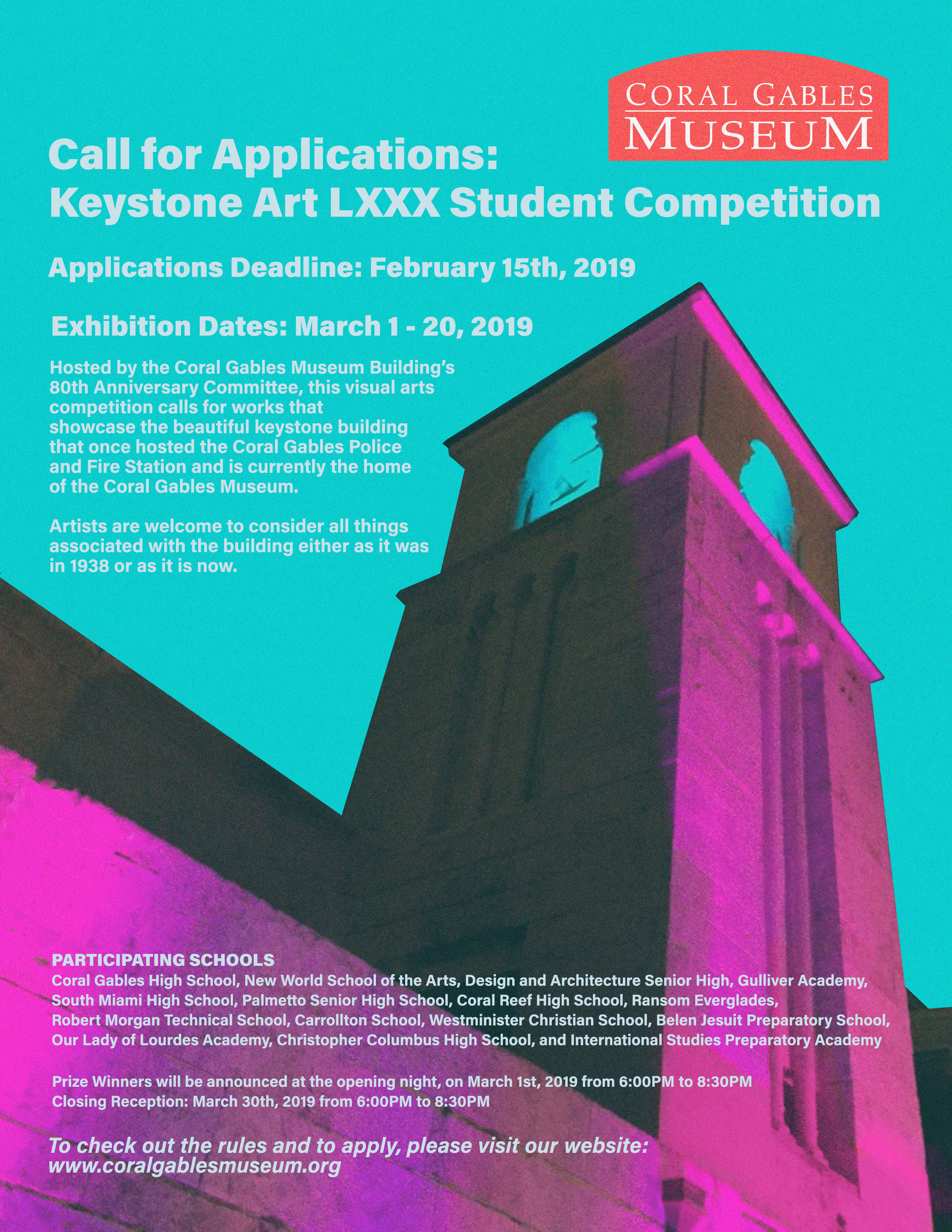 Keystone Art Student Competition - Coral Gables Museum
